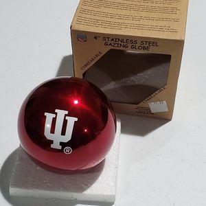 "COPY - Red IU 4"" Stainless Steel Gazing Ball Globe"
